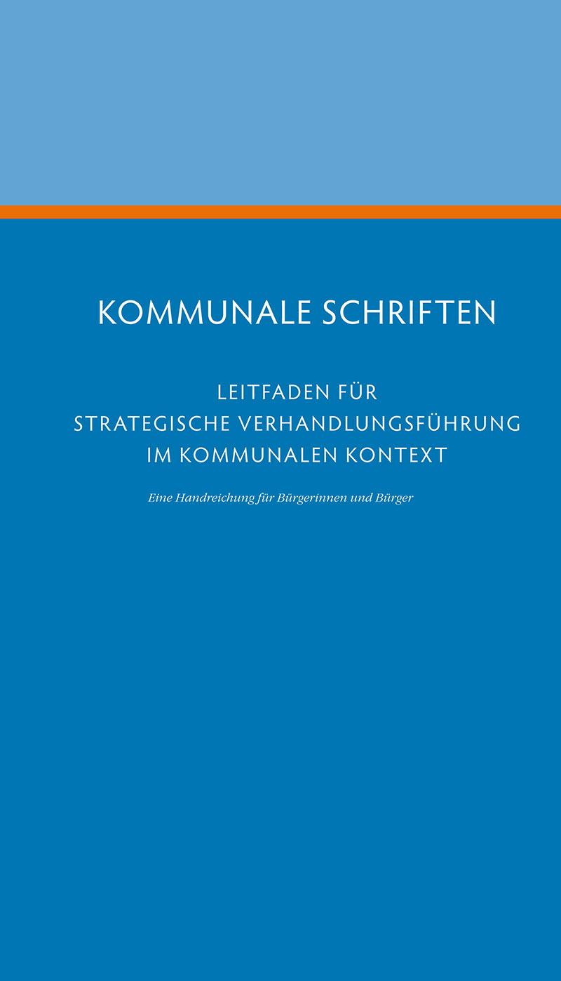 Downloads VLK Sachsen Leitfaden für Strategische Verhandlungsführung im kommunalen Kontext